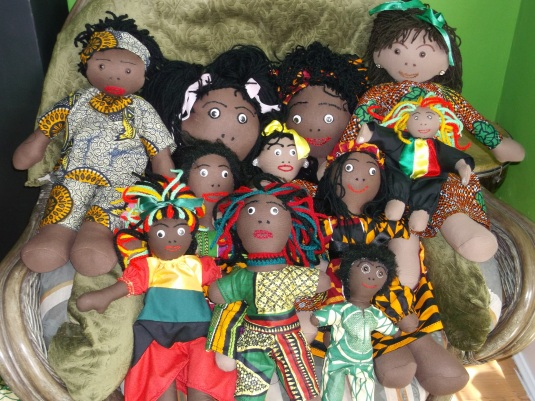 Handmade Doll daughters